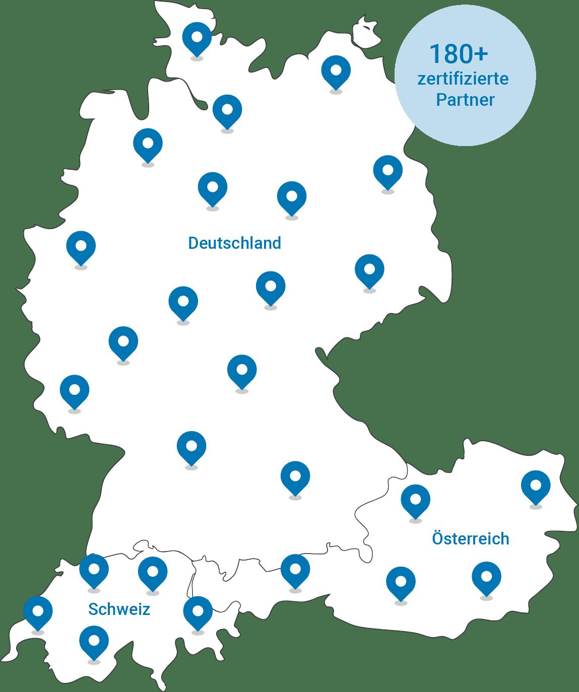 Grafik Partnerkarte