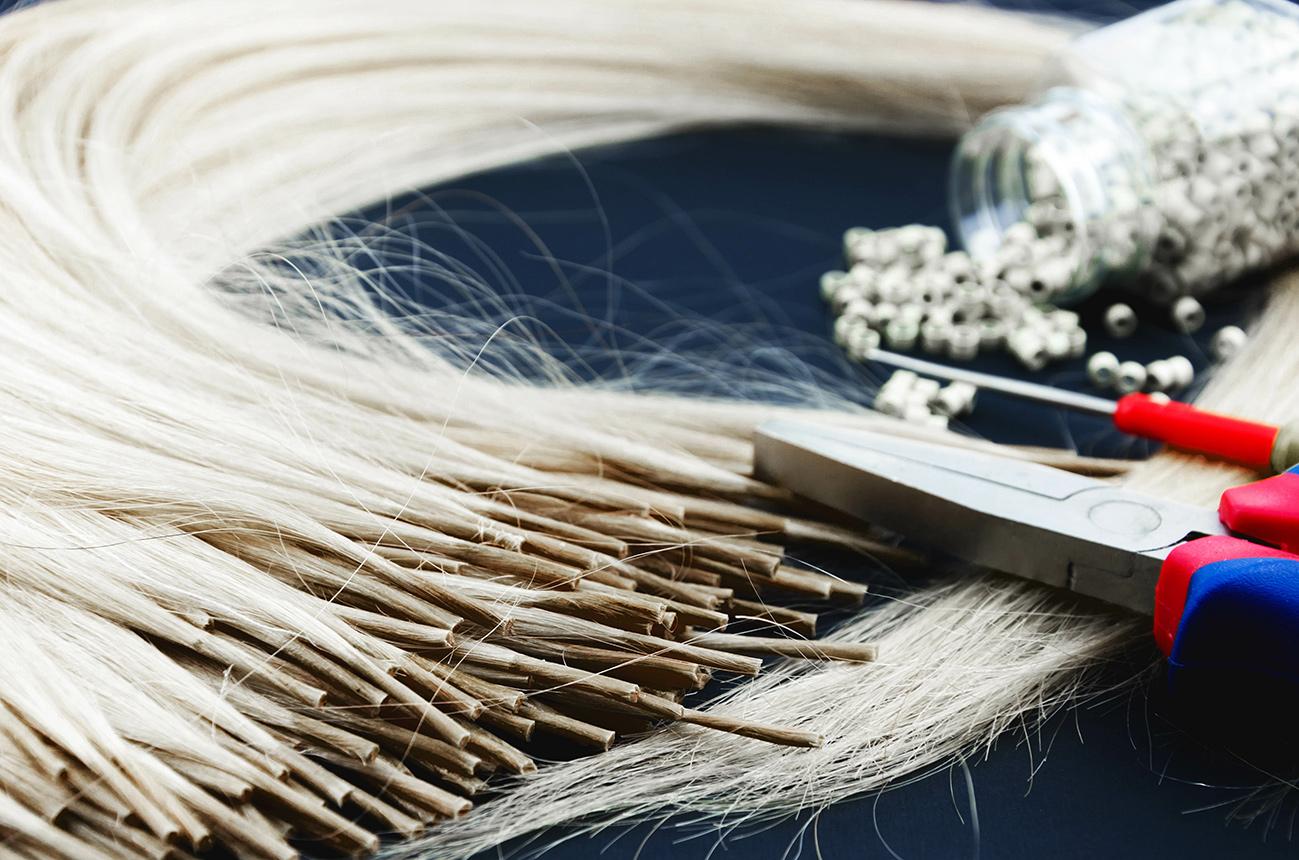 Microring Extensions von Miss Hair