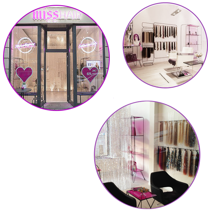 Miss hair Extensions Only Salons Deutschland