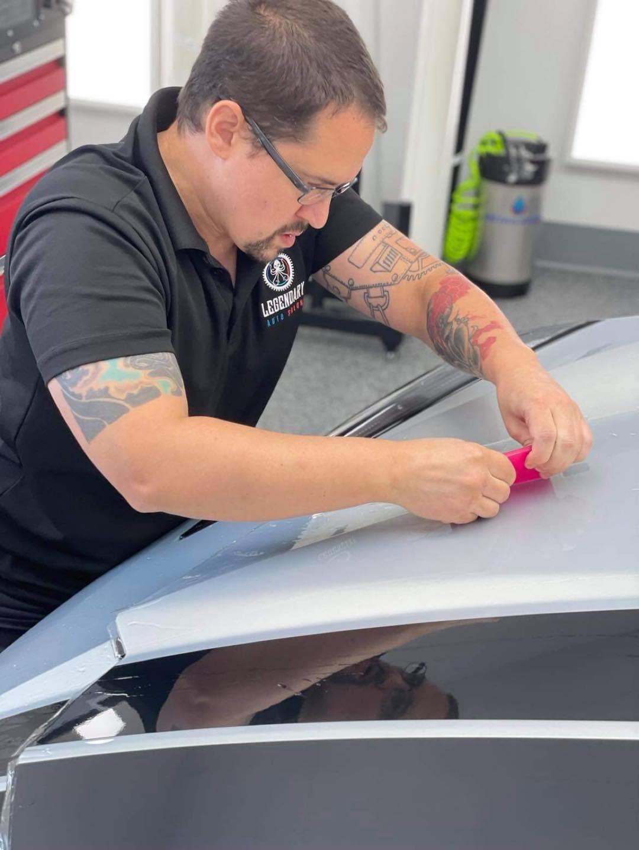 PPF Installation on Corvette