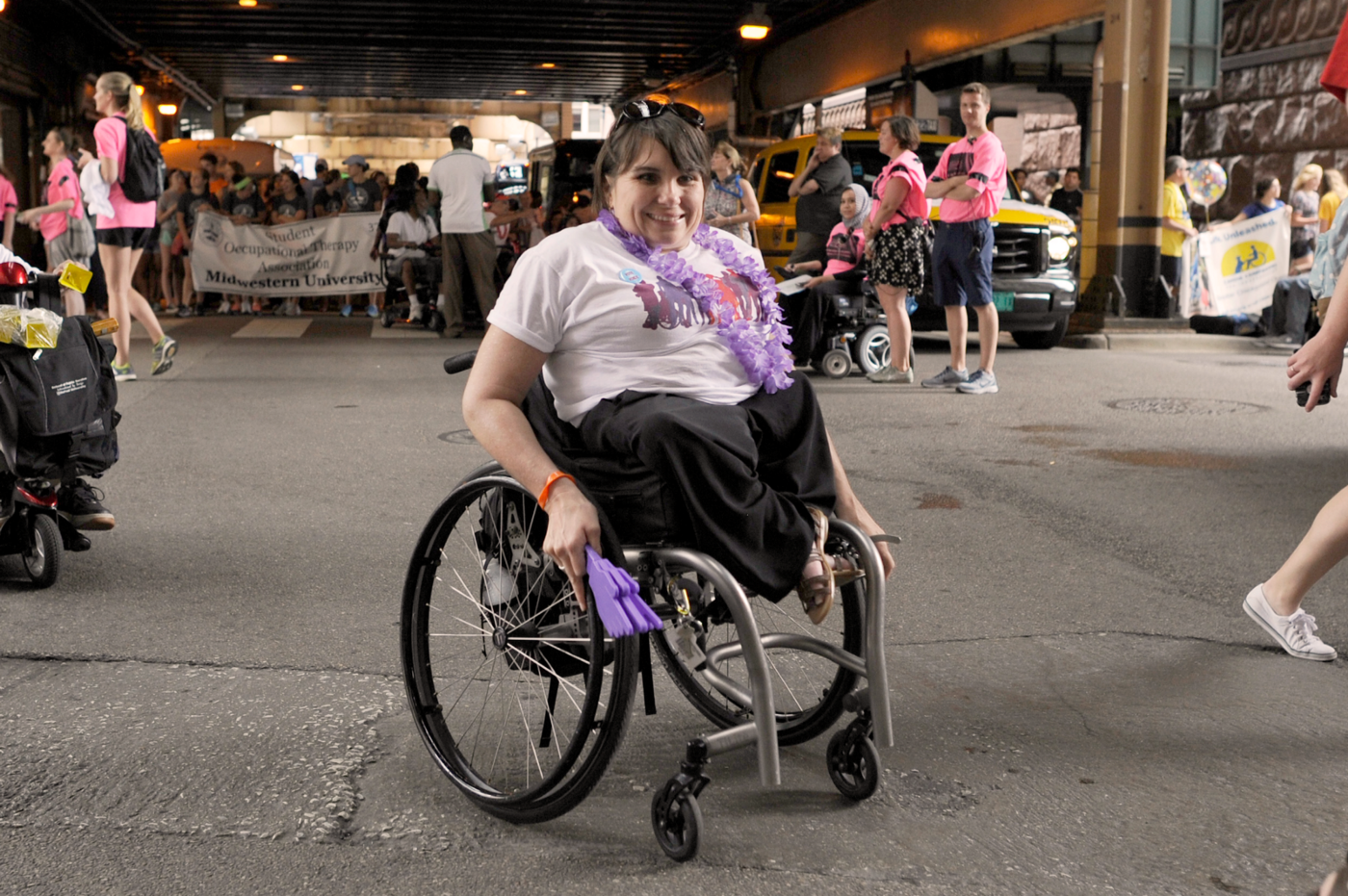Disability Lead Member Karen Tamley shares her journey in honor of the 30th anniversary of the ADA.