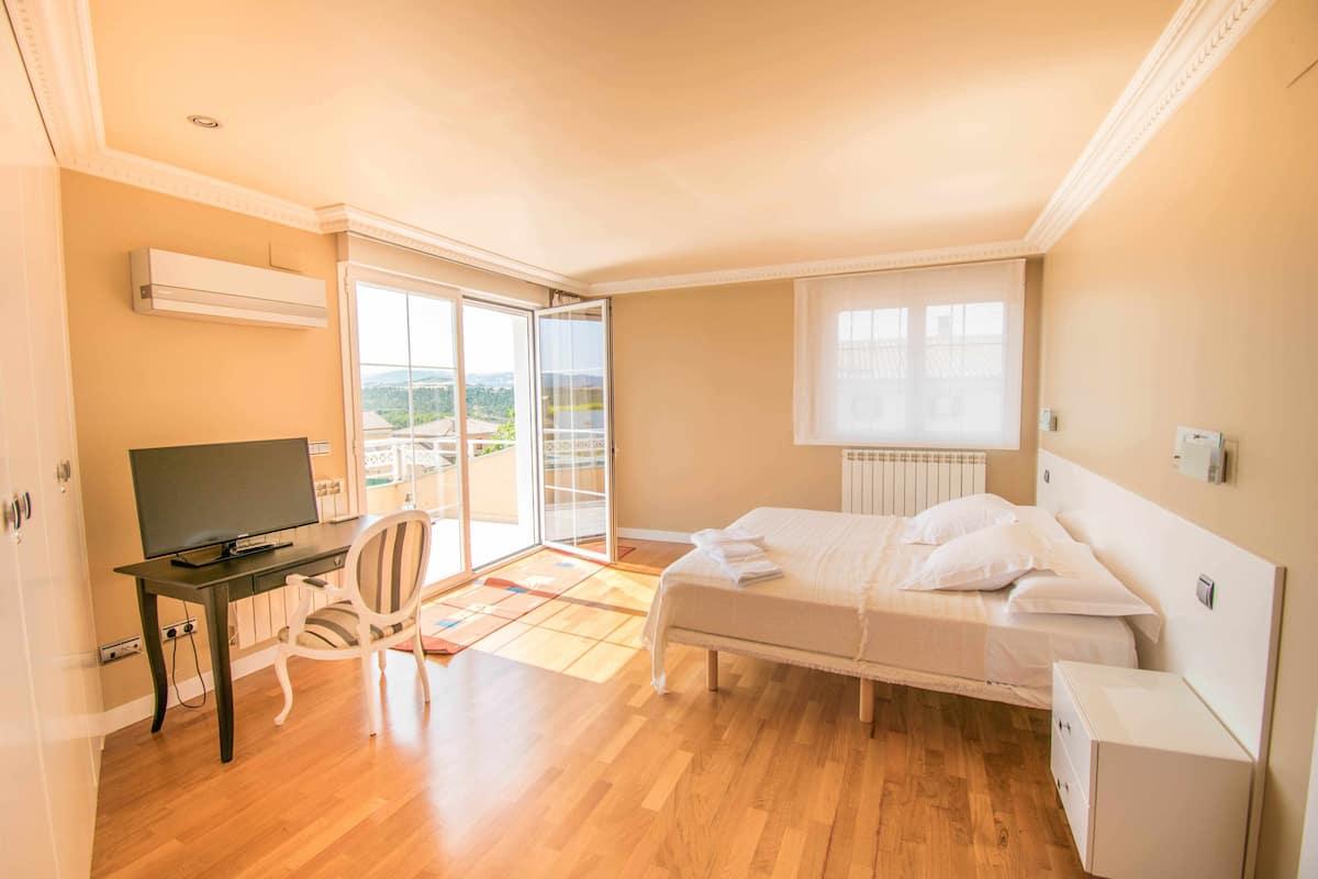 Suite con vistas Hotel Rural Ver Venir (Garinoain)