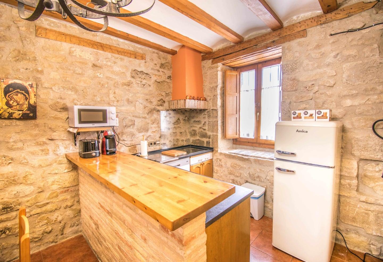 Cocina equipada Casa Rural Ronda del Castillo (Olite)