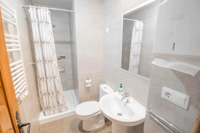 baño casa rural bidezarra etxea