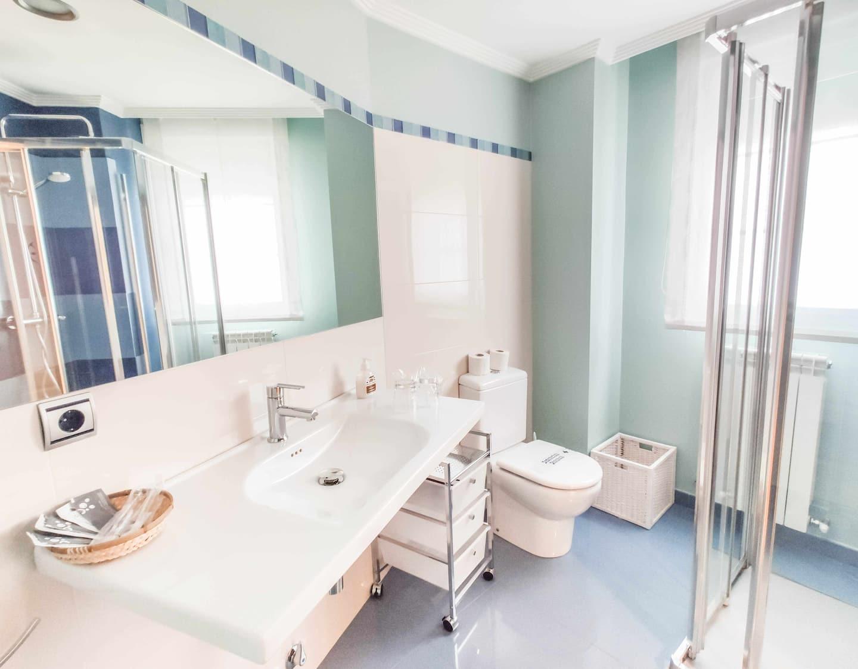 Baño equipado Hotel Rural Ver Venir (Garinoain)