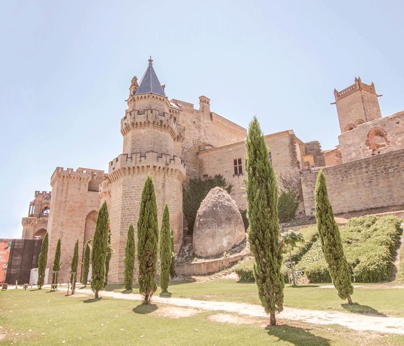 Castillo de Olite en Navarra