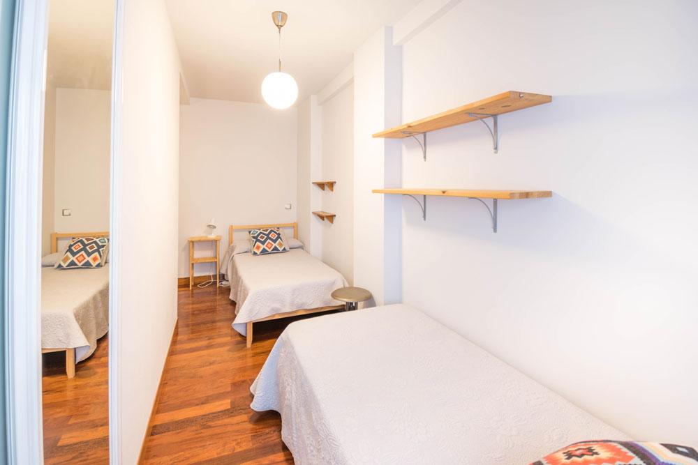Habitacion con camas individuales Casa Maitetxu (Puente la Reina)