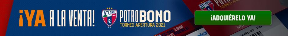 ¡Ya a la venta! Potro Bono Torneo Apertura 2021