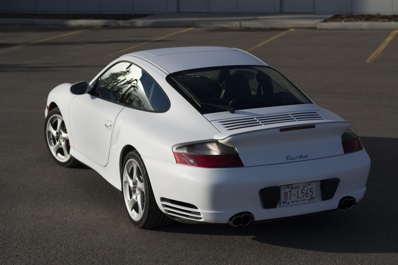 Porsche from behind.