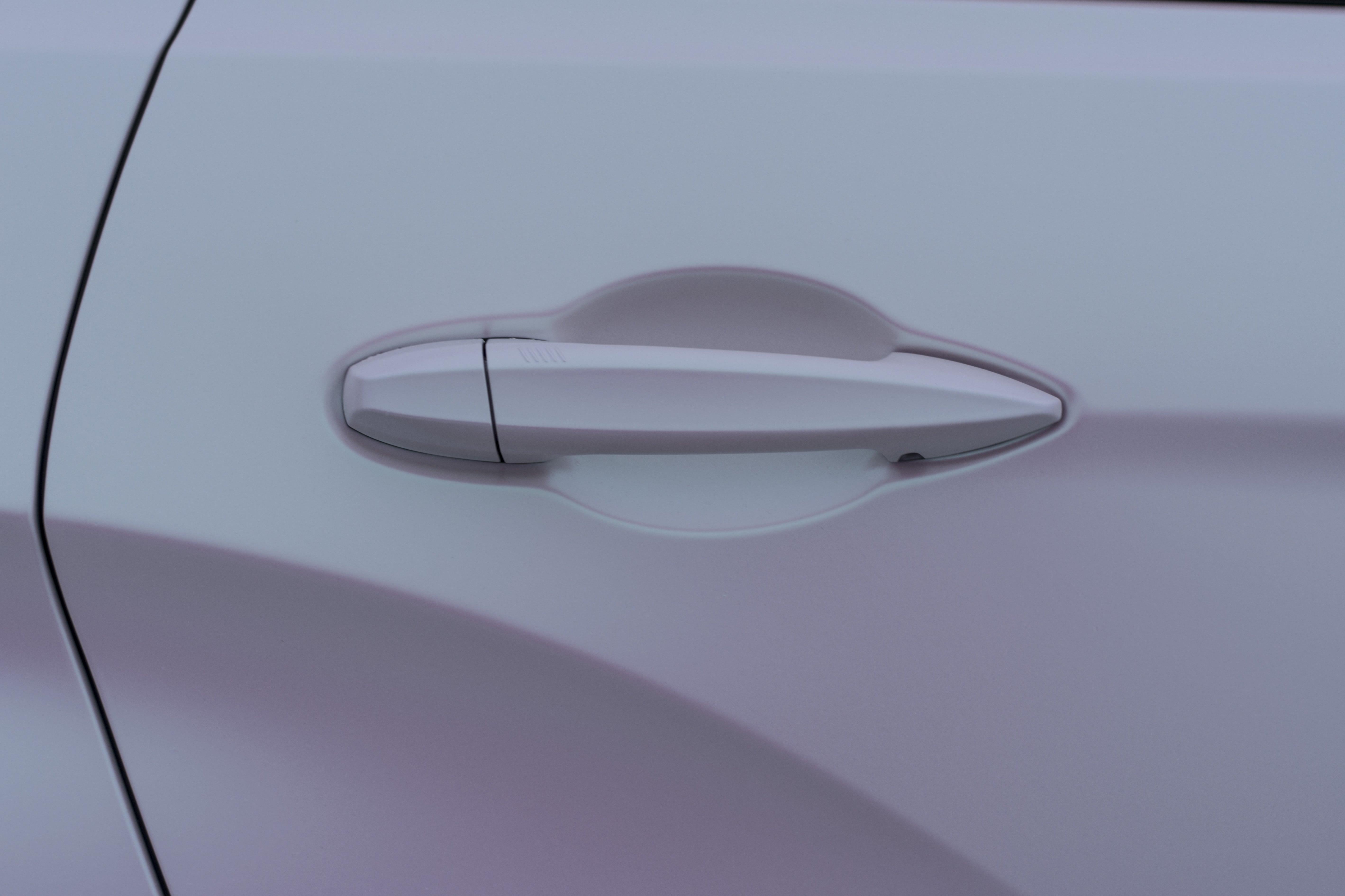 BMW X8 door and handle.