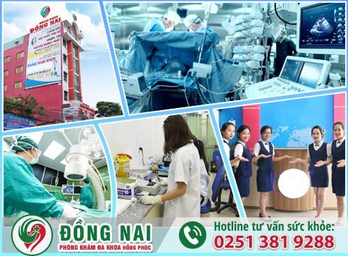 Phòng Khám Đa Khoa Hồng Phúc Biên Hòa - Địa chỉ phòng khám chữa hẹp bao quy đầu ở Biên Hòa - Đồng Nai tốt nhất