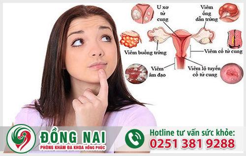 Chữa bệnh viêm phụ khoa ở Biên Hòa Đồng Nai