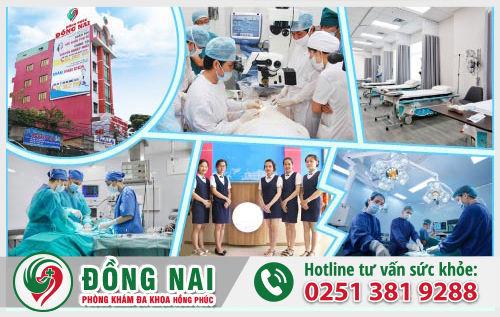 Phòng Khám Hồng Phúc - Địa chỉ chữa bệnh viêm phụ khoa uy tín ở Biên Hòa, Đồng Nai