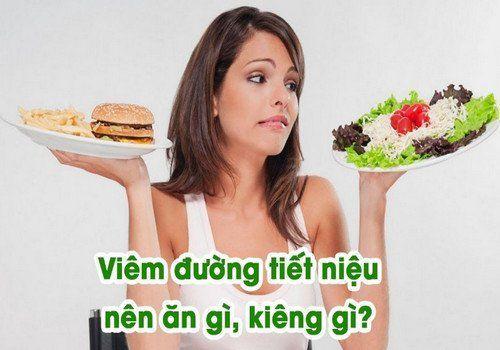 Viêm đường tiết niệu nên và không nên ăn gì?