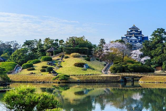 Korakuen Garden and Okayama Castle
