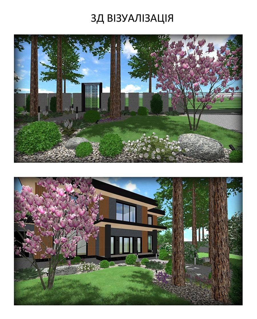 3D-визуализация ландшафтного проекта