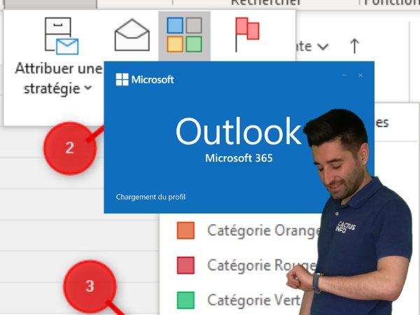 Mes 4 astuces Outlook pour booster votre efficacité!
