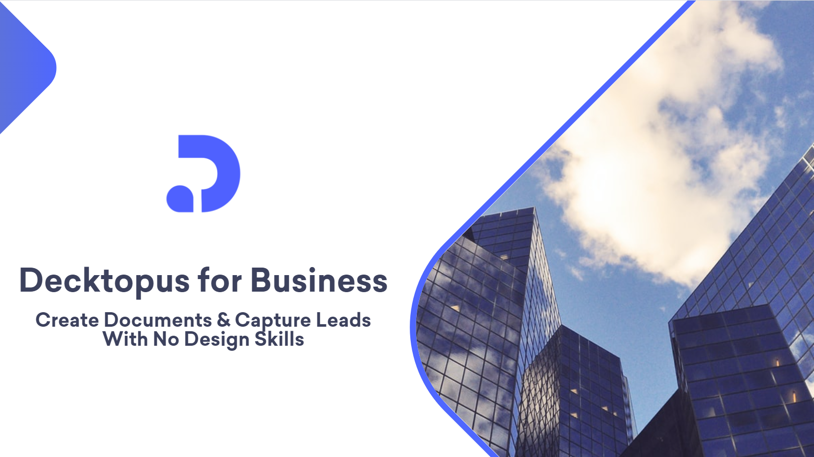 A presentation cover slide with an image and a logo and a title and a subtitle