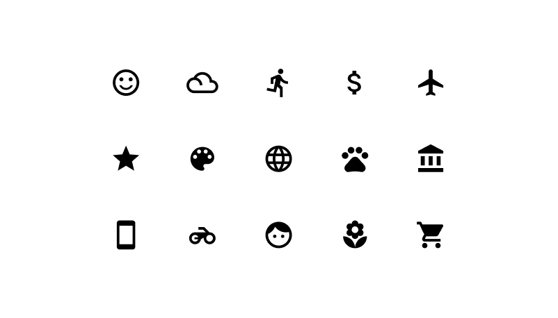 Thousands of icons for each situation from Icons8