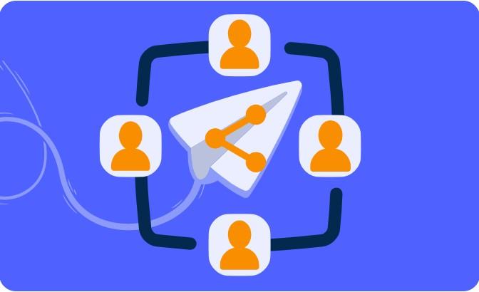 Sharing feature on Decktopus online presentation maker platform