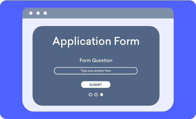 Form feature on Decktopus online presentation maker platform