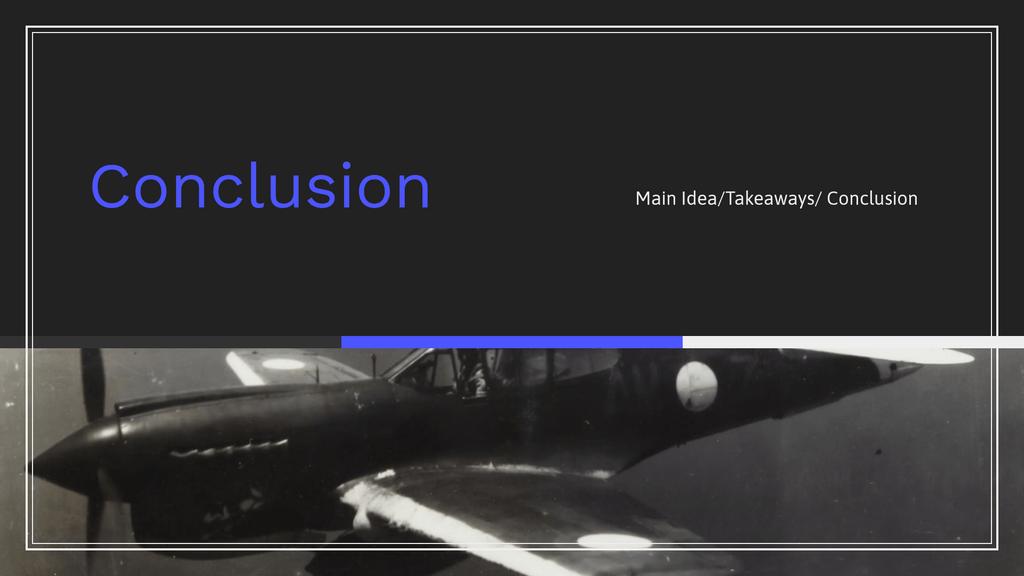 Homework Presentation Conclusion Slide