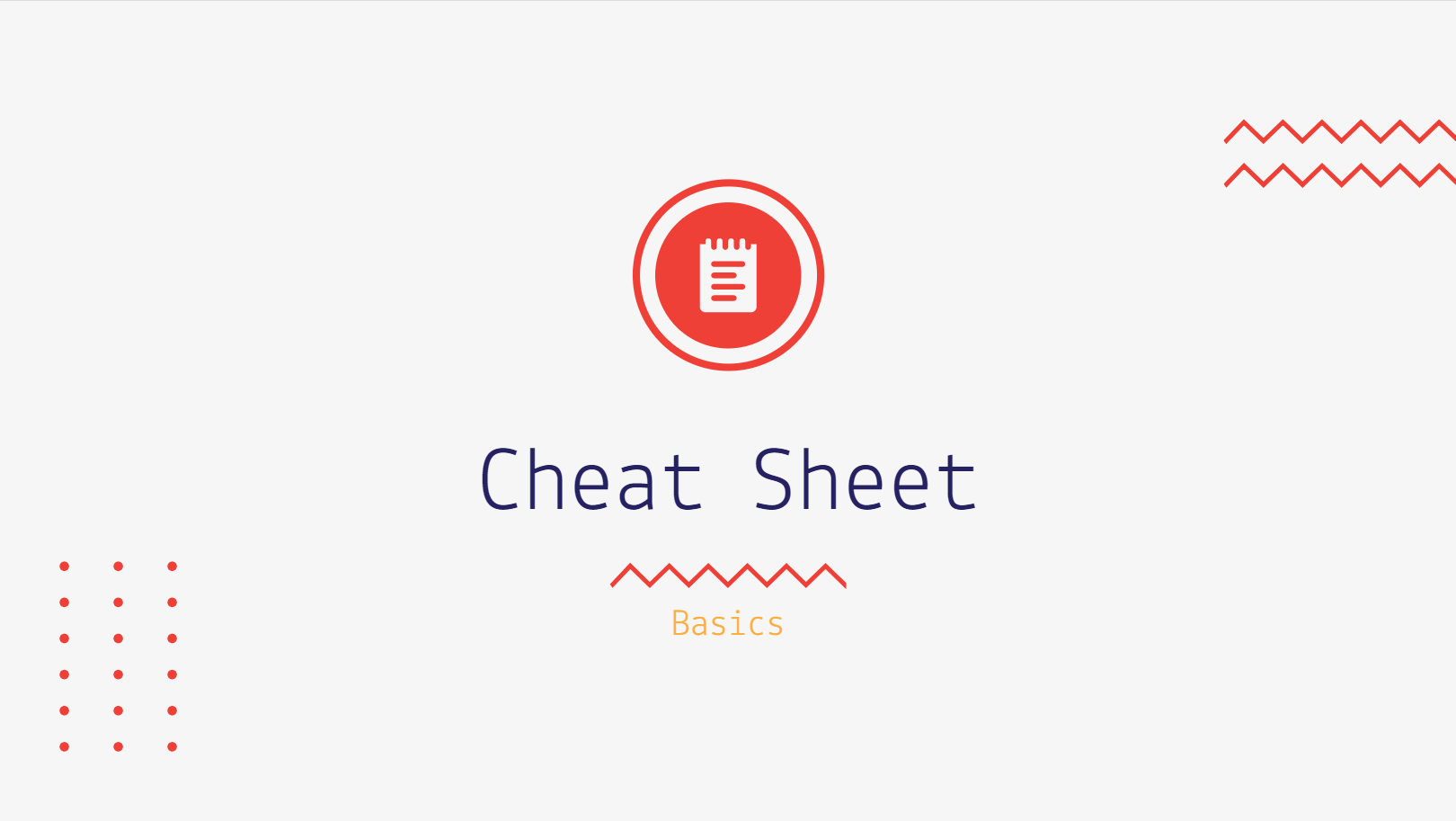 Cheatsheet is widely used by content creators to generate leads. A cheat sheet is a document where you give an audience a piece of brief information about a specific niche and create a list of things of hacks for everyone in this niche should know. This can be an SEO optimization cheatsheet, landing page cheat sheet, etc.