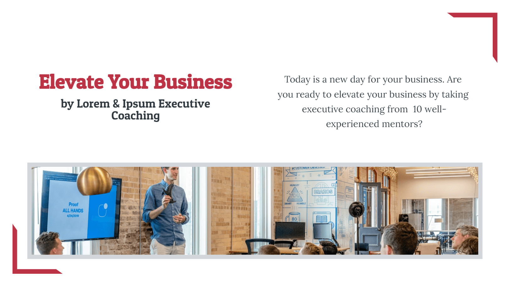 This executive coaching proposal template is all you need for your coaching business. With only one document, you can introduce your services and payment methods, come to an agreement, collect leads, and direct people to a payment page instantly without any effort.