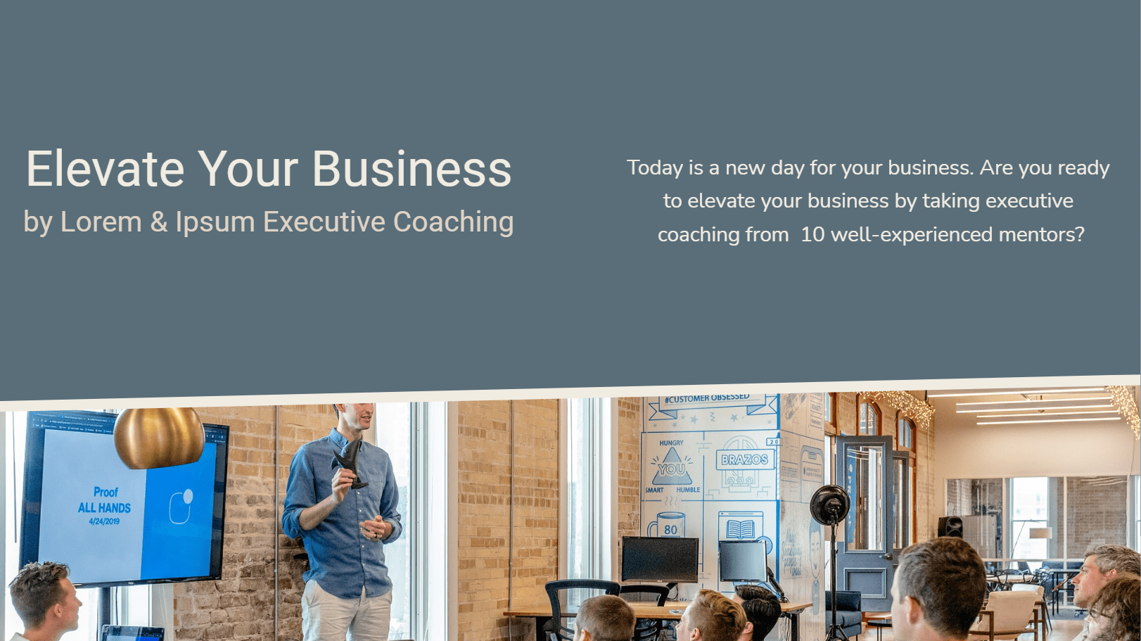 The executive coaching proposal template is prepared for coaching companies to introduce their company, services, packages, terms&conditions and collect leads by the form feature. By duplicating this content firms can create proposals only by changing the content within minutes. The user-friendly dashboard enables you to manage your proposals and analytics easily.