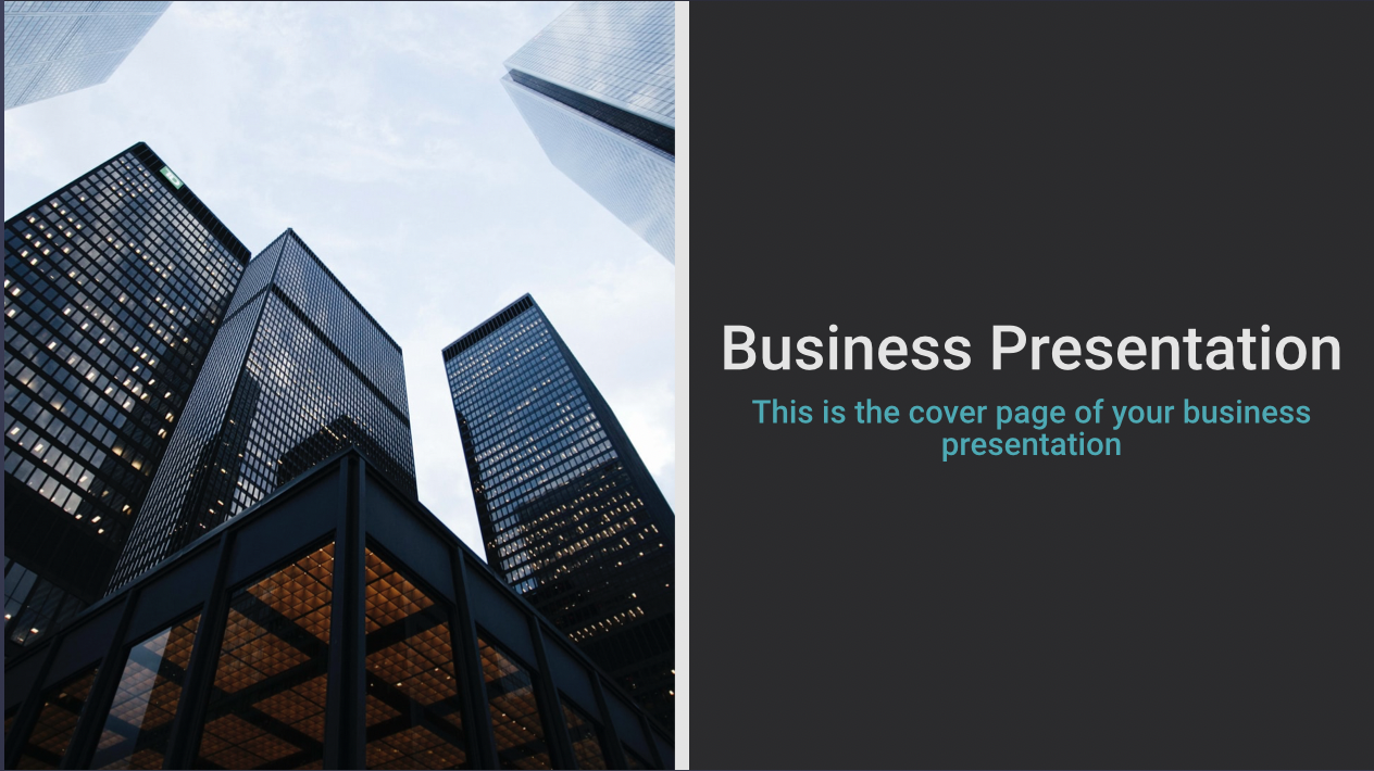 This presentation template will be suitable for all of your business decks. You can present weekly reports, monthly report and quarterly reports. Professional looking template is ready to be used!