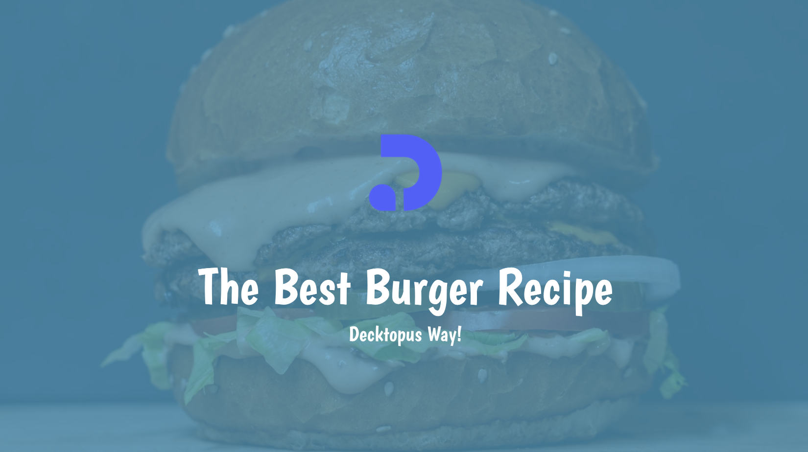 Happy Burger Day! We prepared a classic but juicy burger recipe for you! Try this recipe or just use the template to serve your audience in such a fun day!