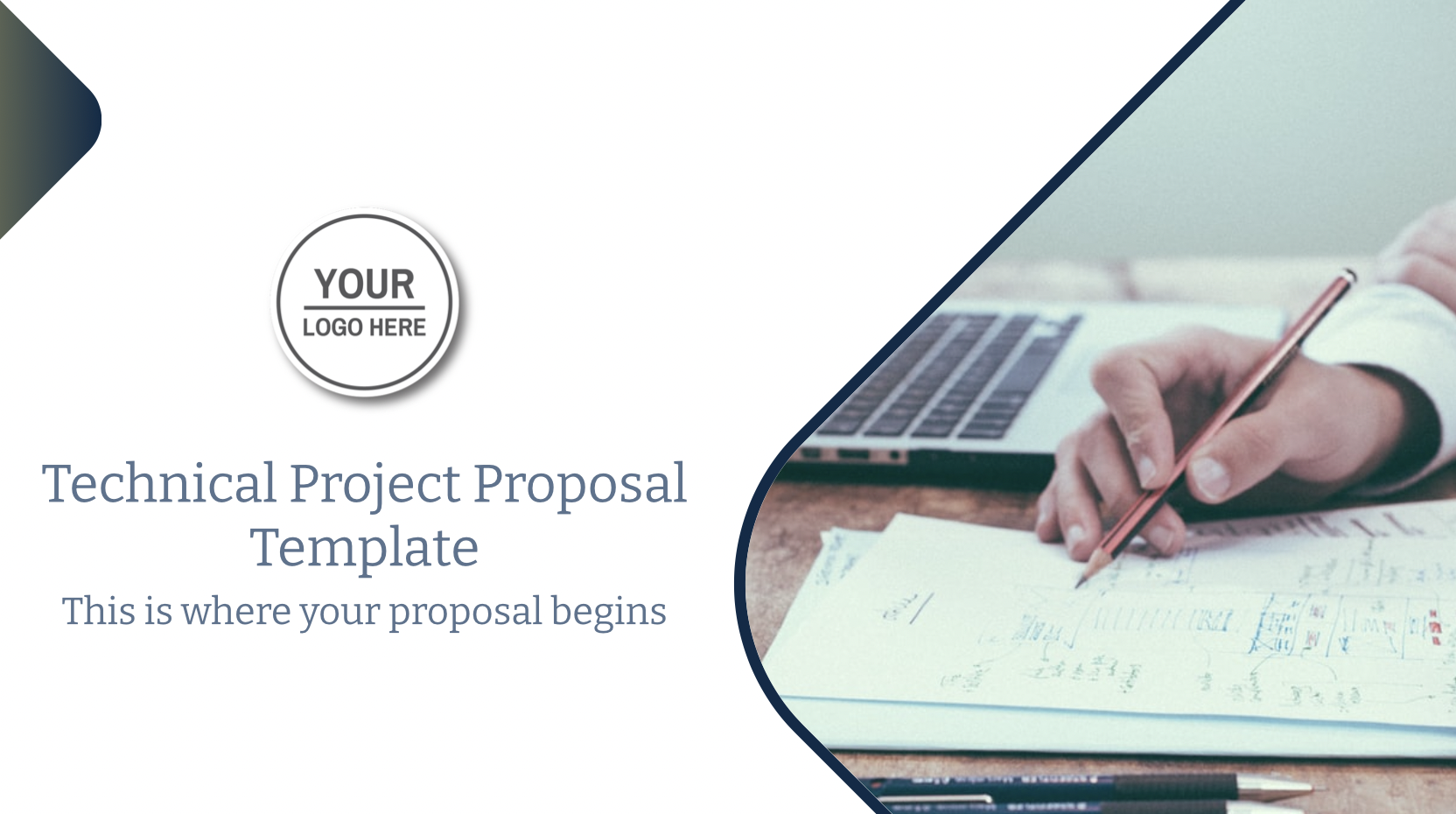 You can strengthen the professional relationship you've fostered between particular contributors and an organization by submitting a project proposal. The proposal establishes a framework for the project domain, clarifies the objectives, and lays out your plans and forecasts for how they will be met.