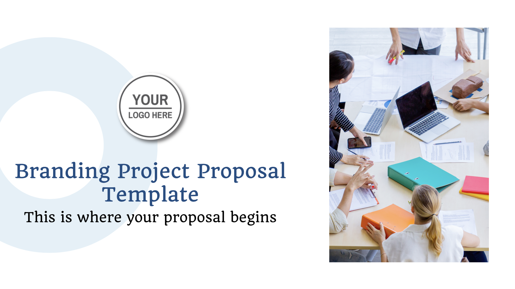 The proposal document may also be thought of as a marketing document that will help to maintain and enforce a favorable connection between project stakeholders and your company.