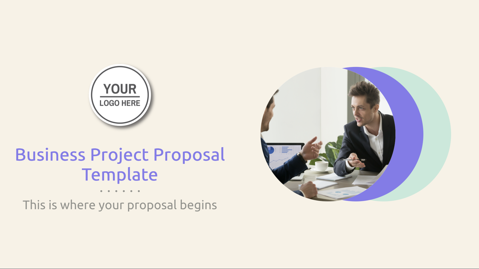 Use this business project proposal template to stand out in your project proposals and presentation on or off office. Decktopus designs will let you stand out and express your project professionally.