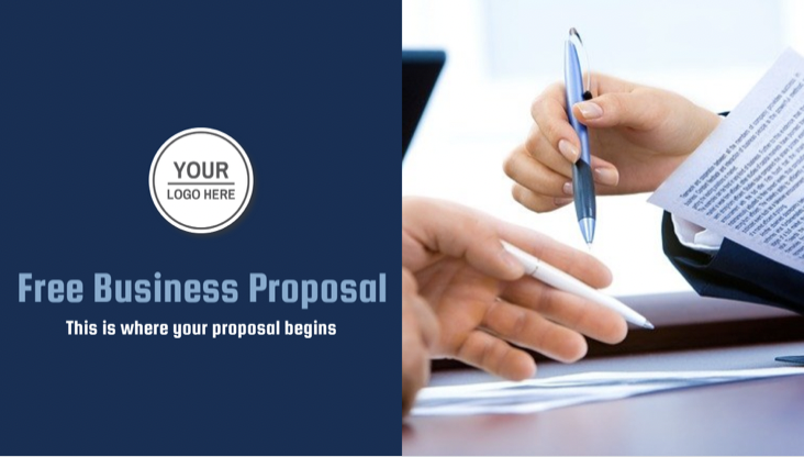 What is a business proposal? A business proposal is a document used by a B2B or trading company (this is not always the case) in which a seller is trying to convince a potential buyer to buy their goods or services. Like this content marketing plan, it describes what your company does and what you can do for your customers.