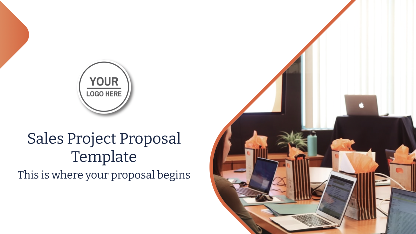 Use this sales project proposal for your next sales follow up to close the sales more quickly than you do. How? By using Decktopus engagement features! Swipe to learn more.