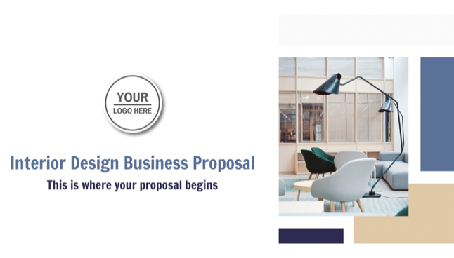 The ultimate interior design business proposal can be created through the following steps: Be in command of your business and your services. Before you start creating a proposal, make sure you have defined in advance your services, their scope, and of course your fees.