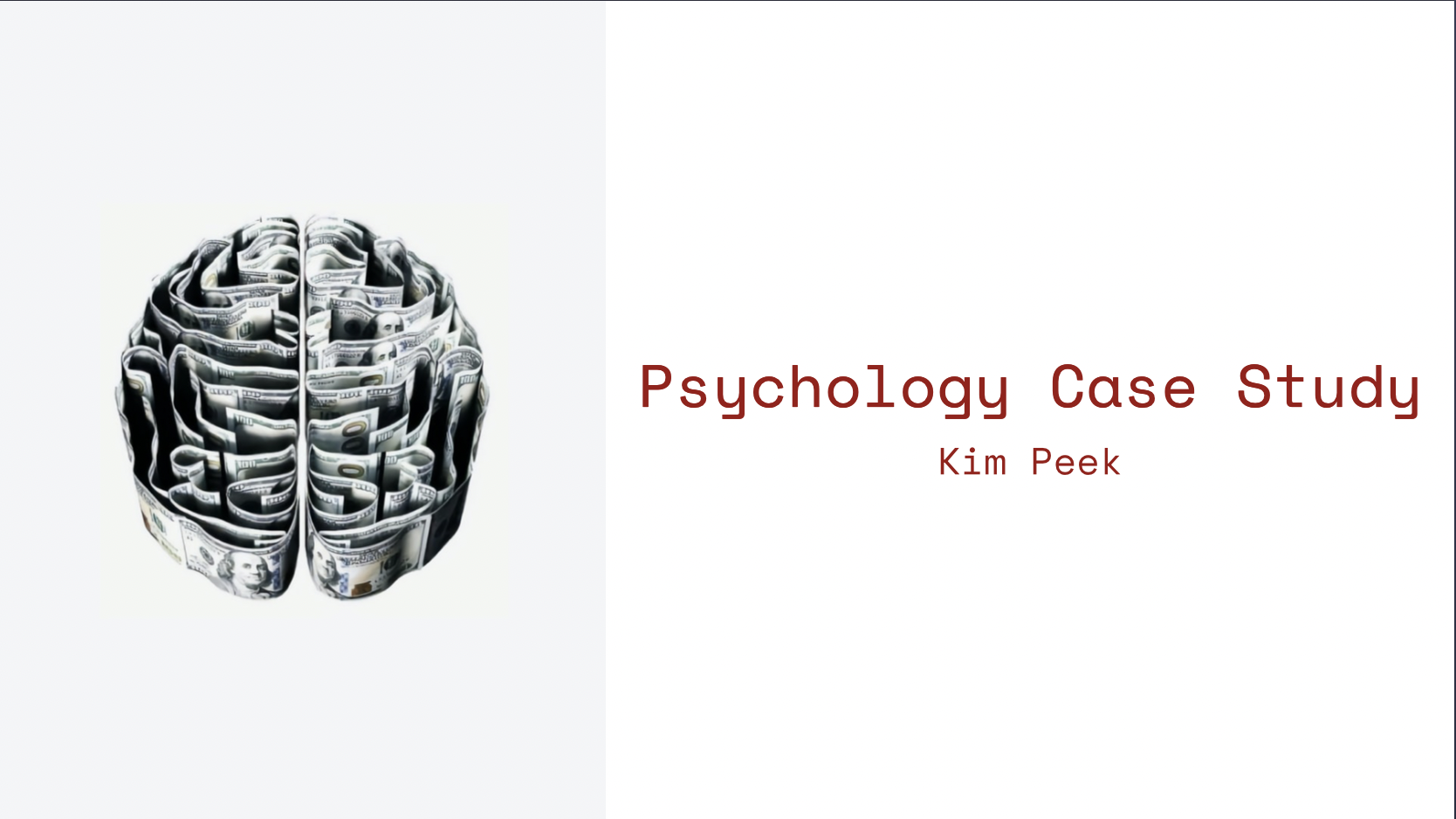 Develop and present psychology case studies with our ready-to-go presentation templates. Try these for developing clinical case presentations to stay on point with academic standards - they'll make you look so professional! Improve the way your computer scrambles information, because when it comes to presentation templates... nothing can compare.