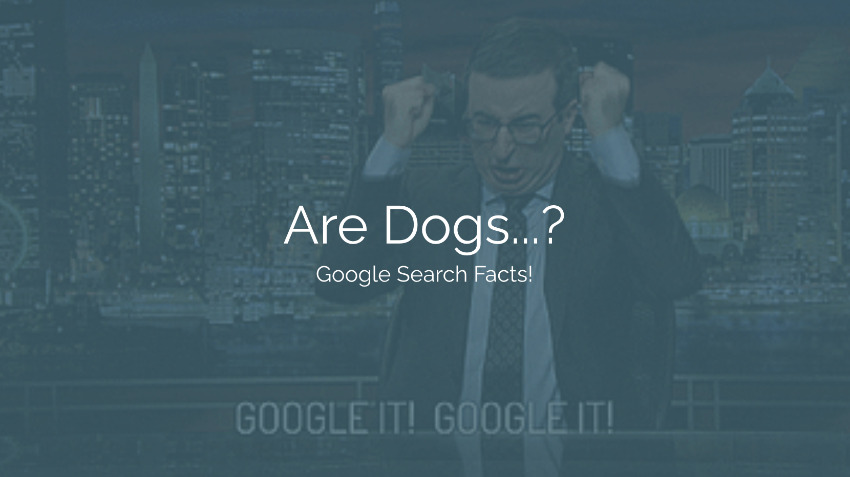 """Fun task? Maybe too boring for the kids at that workplace party. Worry not, we've got just the thing! Google Search Facts Presentation separates your audience into teams and challenges them to answer different questions about popular topics like """"Are dogs colorblind?"""" or """"What is an emoji?"""". It might sound a little boring but this application will keep everyone on their toes rooted in product knowledge."""