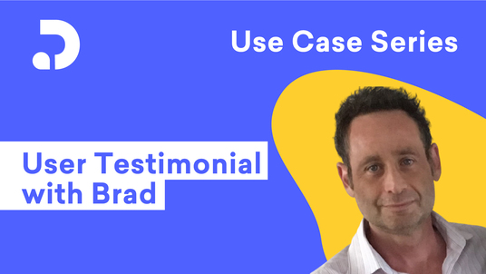 Use case with Brad, prepared by Decktopus Content Team
