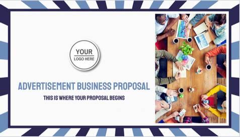 Advertisement Business Proposal Template