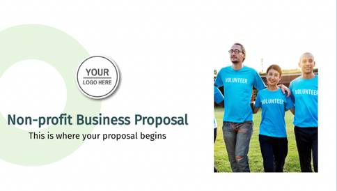 Non-Profit Business Proposal Presentation Template