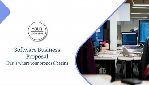 Software Business Proposal Presentation Template
