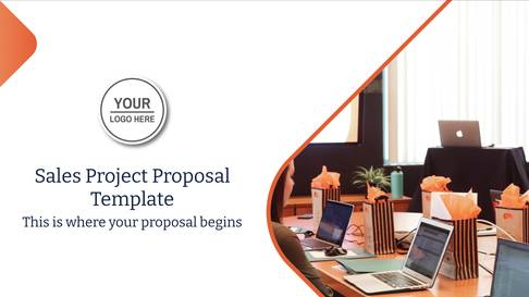 Sales Project Proposal Presentation Template