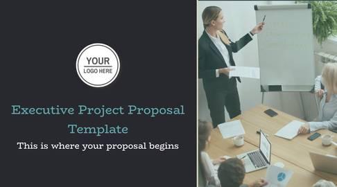 Executive Project Proposal Presentation Template