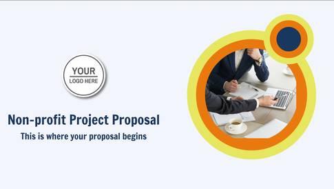Non-Profit Project Proposal Presentation Template