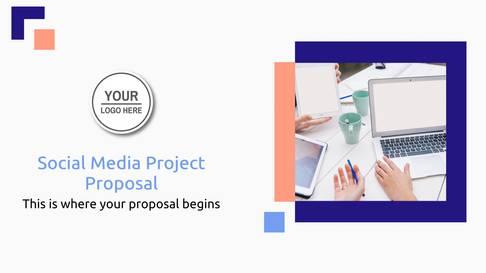 Social Media Project Presentation Template
