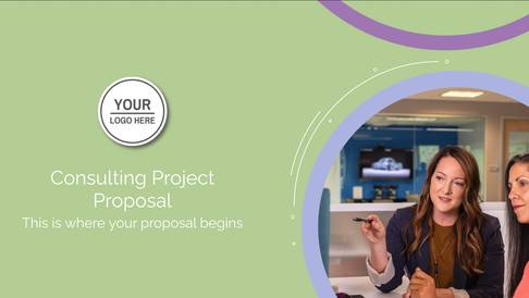 Consulting Project Proposal Presentation Template