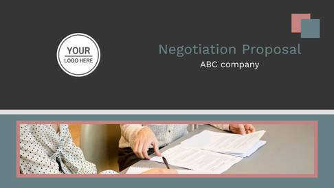 Negotiation Proposal Template