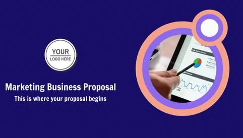 Marketing Business Proposal Presentation Template
